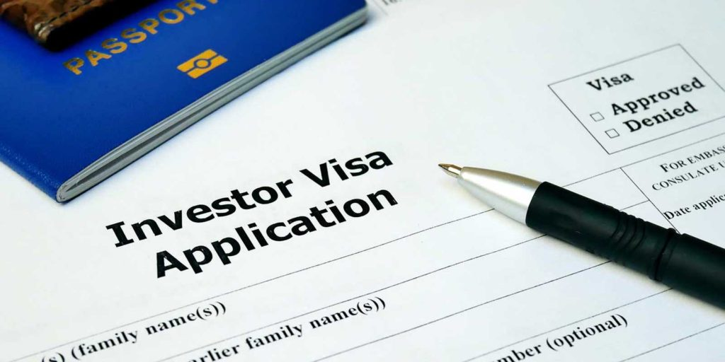 EB-5 visa application