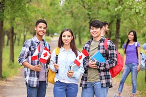 Foreign students all holding student visas
