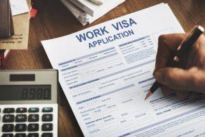 H-2A visa employment visa application
