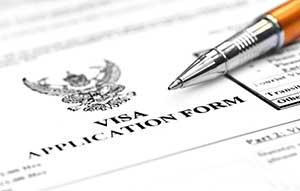 J-1 visa application