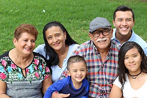 an extended family that is in the united states under L-2 visa status