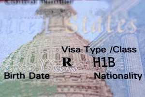 an H-1B visa that an individual recently acquired