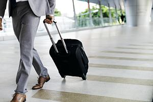 Business executive traveling on visitor visa