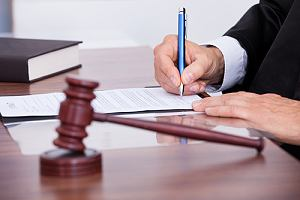 Judge signing court orders