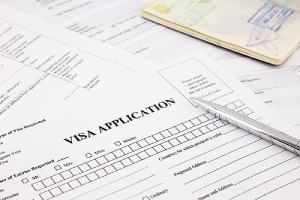 Visa application form a passport, EB-4 comes with various requirements