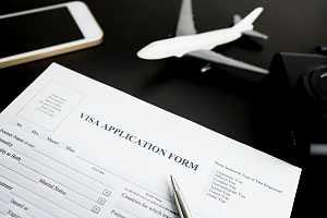 EB-3 visa application paperwork