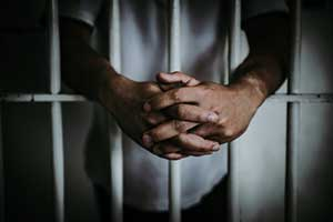 Man in jail receiving the maximum penalty for driving in Virginia