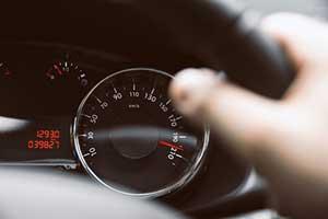 Person speeding in Virginia