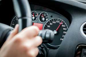Reckless driver going over 85 miles per hour