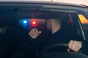 drunk driver eluding chased by police