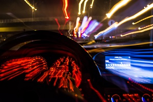 drunk driver goes at night view from inside wondering how long does reckless driving stay on your record